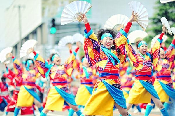 5. Lễ hội cười Warai Matsuri